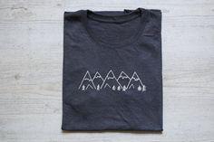Berge tee T-shirt Shirt Erwachsene Unisex: weiche von wear2me