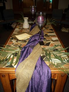 This is a Maundy Thursday setup. . . Perhaps more can be done visually in the vestibule to help prepare parishioners for the liturgy to be celebrated