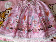 Bodyline Balloon Bear Skirt M