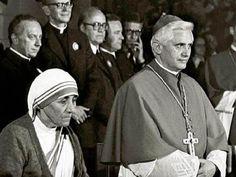 Beata Teresa de Calcuta y Benedicto XVI