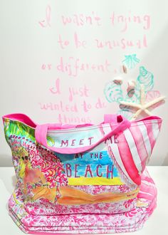 Lilly Pulitzer Beach Tote in Meet Me at the Beach