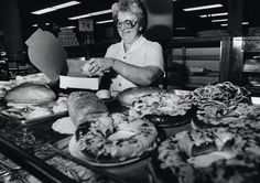 In Rochester, NY Sibley's department store really lived up to what a department store was meant to be. It had a grocery store on its bottom level. They made a party called a pecan pizza. Nothing to do with pizza other than its shape.