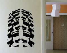 Truck Tire Wall Decal