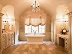 This Bathroom Reflects A French Country Design Influence From