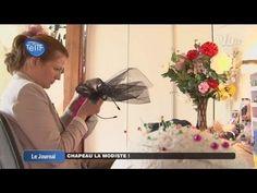 Astrid Crespel, créatrice de chapeau (Herblay) - https://www.youtube.com/watch?v=IsbqB_KmEyQ