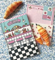 Sacre Bleu! Show your love for breakfast with these Swimmer Japan notebooks and croissant pens!  #croissantday #croissant #breakfast #stationery #pens #notebook #letterset #notes #flatlay #kawaii #cute #NationalCroissantDay #shopsmall #shoplocal #brooklyn #food #brunch