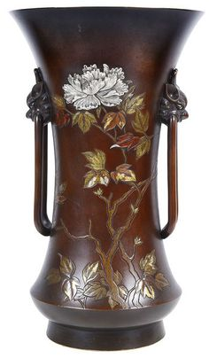 is your home for the most beautiful antiques on earth: antique furniture, fine jewelry, fashion and art from the world's best dealers. Japanese Vase, Japanese Style, Vases Decor, Art Decor, Vases For Sale, Pottery Vase, Asian Art, Metal Art, Metal Working