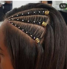 Quick and Easy Back to School Hairstyles for Teens Braids # Braids easy for teens Baddie Hairstyles, Teen Hairstyles, Ponytail Hairstyles, Back To School Hairstyles For Teens, Curly Hair Styles, Natural Hair Styles, Hair Hacks, Hair Inspiration, Hair Makeup