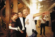 Behind the scenes with Kate Winslet, Leonardo DiCaprio and James Cameron