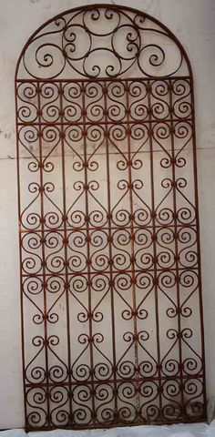 Metal Gate Wall Decor small metal garden gate/wall hanging gate/shabby chic gate/wall