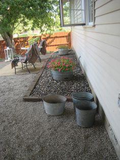 Heureux à la maison: Une nouvelle terrasse de gravier