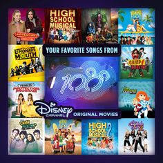 Beginning on May 27, 2016, Your Favorite Songs From Disney Channel Original Movies will be released! Listen to all of your favorite DCOM hits on one album!