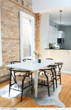 Cofounder's Scandinavianinspired Apartment  Chicago Apartments Classy Apartment Dining Room Inspiration Design