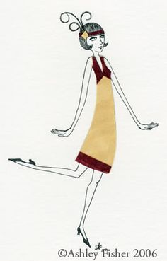 Gorgeous Flapper Girl