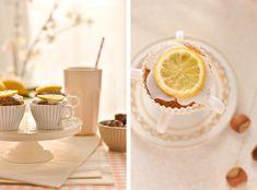 Cupcakes noisettes et citron autour d'un chocolat à l'italienne