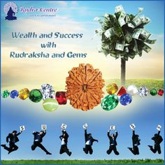 As per ancient Hindu Vedas and Puranas, Rudraksha beads and Gemstones have mystic and healing properties, which when harnessed in the right way can propel an individual on the path of Wealth, Success and Abundance.