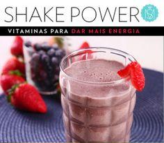 Vitamina pura! Shakes para dar aquele up na correria do fim de ano