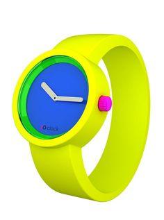 O-clock by Fullspot Neon Watch ☻                                                                                                                                                                  ⇜•ṄεΦЙ❉€яᗛƶΣ•⇝