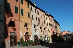 The website I Borghi piu Belli d'Italia lists Italy's prettiest villages, 13 of which are in Emilia Romagna. We went to see Emilia Romagna's villages. Castle Gate, Roman Roads, Small Fountains, Italian Village, Weekend Breaks, Ravenna, 12th Century, Touring, Rome