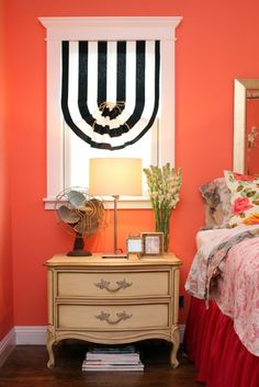 Paint colors that match this Apartment Therapy photo: SW 6258 Tricorn Black, SW 2838 Polished Mahogany, SW 6875 Gladiola, SW 6117 Smokey Topaz, SW 0070 Pink Shadow