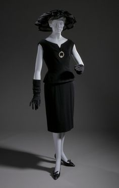 Ensemble Hubert de Givenchy, 1959 The Los Angeles County Museum...