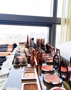 Makeup artist, Charlotte Tilbury, breaks down her day of primping for the Met Gala.  http://www.thecoveteur.com/charlotte-tilbury-amal-clooney-2015-met-gala/