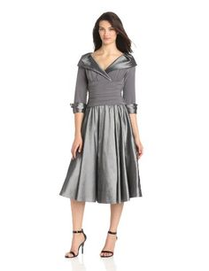 Jessica Howard Women's Portait Collar Surplus Bodice Dress, Silver Gray, 10 Jessica Howard,http://www.amazon.com/dp/B00CLE8URI/ref=cm_sw_r_pi_dp_r85vsb1QFRJGJJX3