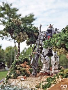 Gundam Family: MG 1/100 RX-79(G) Gundam Ground Type Diorama Build