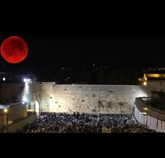 Two blood moons have already appeared in 2014 and they coincided with major events in the Middle East and the world. The next Blood Moon is coming during the Jewish Feast of Passover in April.