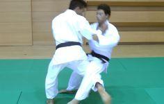 Judo - Ouchi Gari - 大内刈