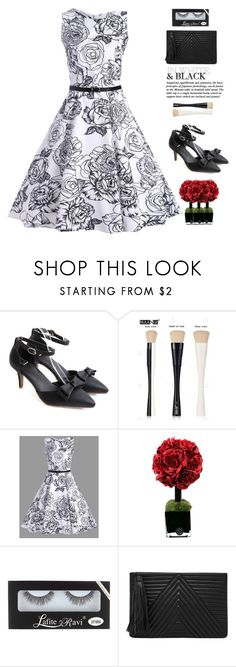 """B&W"" by yexyka ❤ liked on Polyvore featuring Hervé Gambs, HButler and vintage"