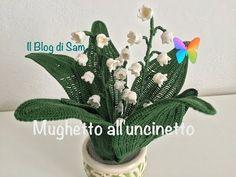 Como tejer rosas a crochet - Make easy Knitting beautiful bouquets of roses Thread Crochet, Crochet Doilies, Crochet Yarn, Beaded Flowers, Crochet Flowers, Bouquet Crochet, Flower Patterns, Crochet Patterns, Crochet Star Stitch