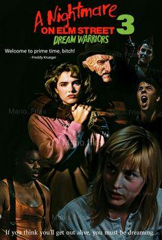 A Nightmare On Elm Street 3 Dream Warriors 1987 Horror Movle Edit By Mario. Frías