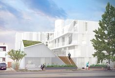 Gallery of LOHA's Latest Supportive Housing Complex Curbs LA's Increasing Homelessness - 1