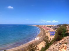 Playa del Ingles - Gran Canaria - Photography by Valerie Mellema