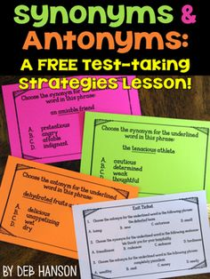 26 Best Synonyms And Antonyms Images Synonyms Antonyms