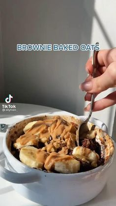 Low Carb Sweets, Healthy Sweets, Healthy Baking, Healthy Snacks, Fun Baking Recipes, Sweets Recipes, Healthy Breakfast Recipes, Cooking Recipes, Oatmeal Dessert