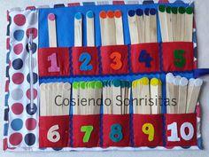 Palitos numericos   En la metodologia Montessori se le conoce como caja de husos. La función de este material es proporcionar al niño un...