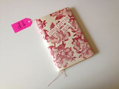 Charlotte's Web with beautifully handmade book by SundayBlossoms, $18.00