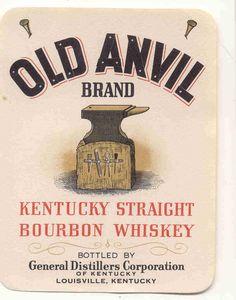 Old Anvil Kentucky Straight Bourbon Whiskey