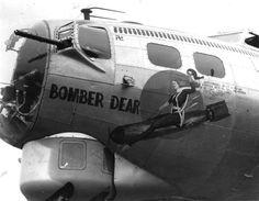 "B-17 Flying Fortress ""Bomber Dear"" nose art"