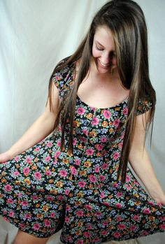 Flowered Rompers