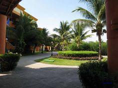 Gartenanlage in einem Hotel, Mexiko