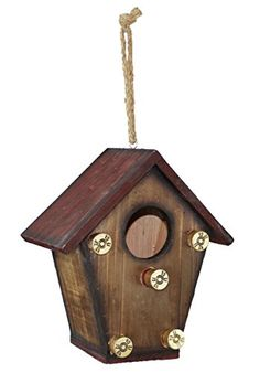Shotgun Shell Wood Birdhouse <3 This is an Amazon Associate's Pin. Find out more on Amazon website by clicking the image.