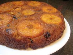 Persimmon and date upside-down cake.  Oh, what to do with all those Fuyu Persimmons!  (from deniseskitchen.com)
