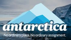 """Voice for Antarctica"". Participate in this epic competition about climate change by Air New Zealand. By the way: I REALLY want to win this one!"