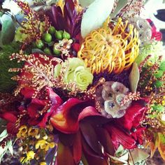 Oooooh! My bouquet, next day :) Thank you mama in-law!  #weddingbouquet #flowers http://www.russwholesaleflowers.com/ RusswholesaleFlowers.com offers the best prices to the public for wedding flowers bouquet, wedding flowers,  bridal flowers, including:  sunflower bouquets wedding; silk flower bouquets wedding; rose bouquets wedding; and flower boquets