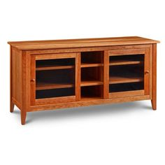 Pine Point series is made in rustic cherry which will show more natural beauty in the wood including sap streaks and larger Cherry pitting. Living Room Wall Units, Living Room Furniture, Living Room Decor, Home Decor Websites, Media Center, Sliding Glass Door, Wooden Shelves, Rustic Decor, Console