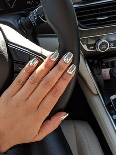 Mirror nails. I have tried these nail tips and absolutely love em!