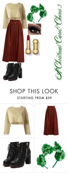 """A Christmas Carol: Chorus 3"" by kamurinji ❤ liked on Polyvore featuring adidas Originals, Mafalda von Hessen and Vjera Vilicnik"